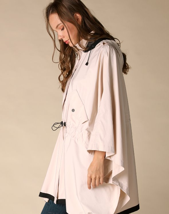 Stormie Poncho Jacket (VJ2LF603/BE)