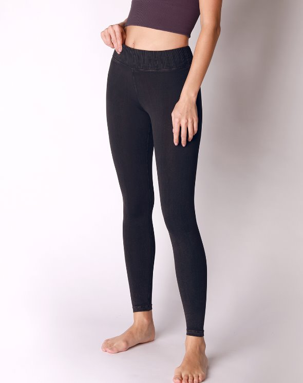 Mid-Rise V Water Leggings (VJ4BO870)