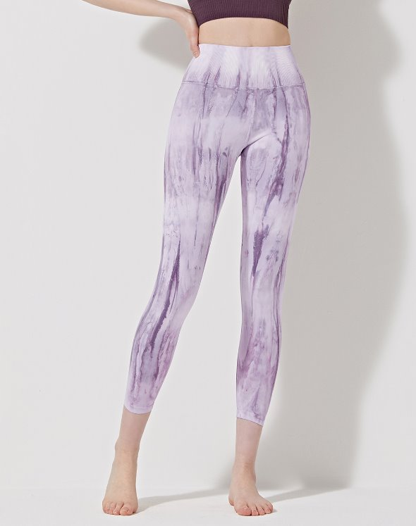 Crystal V-Back Leggings (VK2BO895/PU)