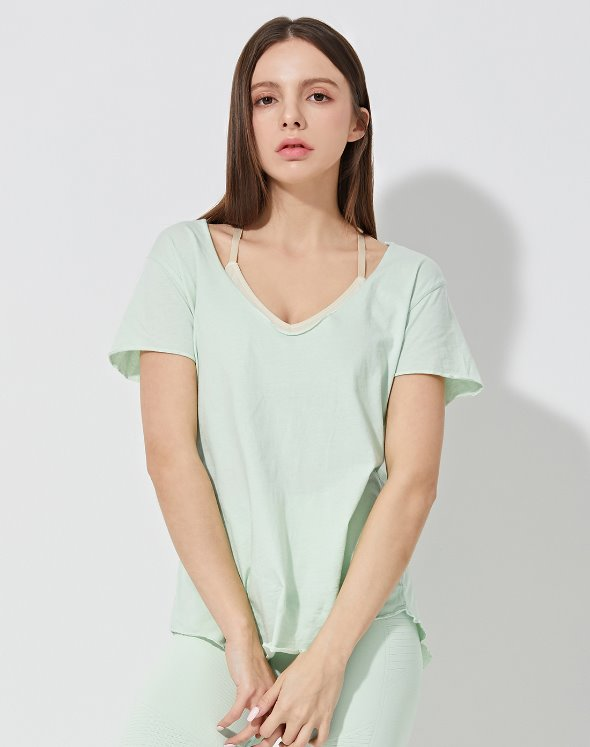 Raegan Relaxed V-Neck (VK2LF319/MT)