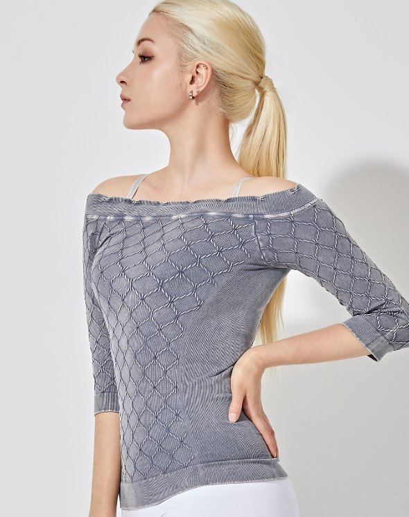 Chain Link Off-Shoulder Top (VK2TS439/RO)