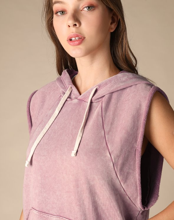 Sleeveless Hoodie Sweat (VJ2LF605/RS)