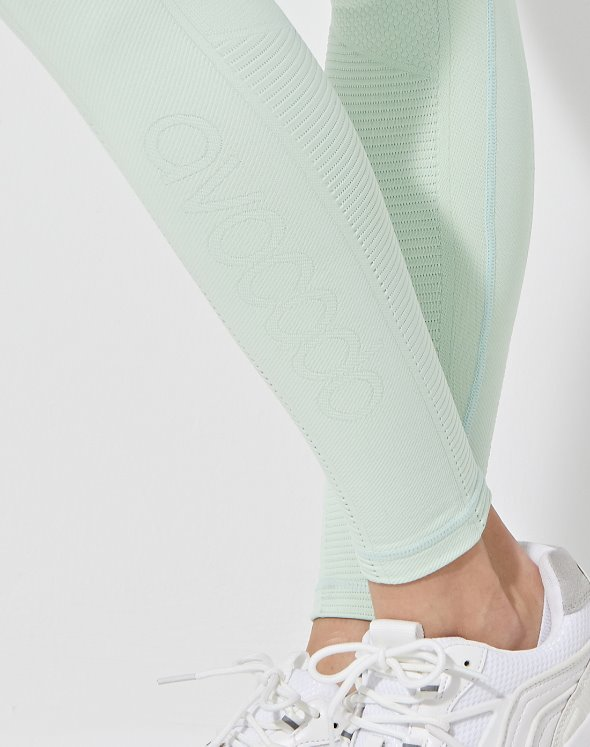 Mid Rise Phoenix Fire Leggings (VK2BO872/MT)