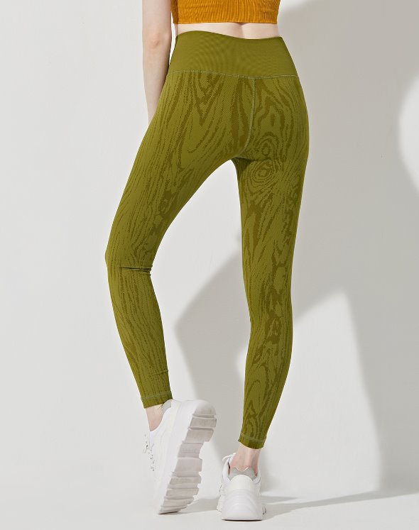 Willow Wood Grain Leggings (VK2BO825/AV)